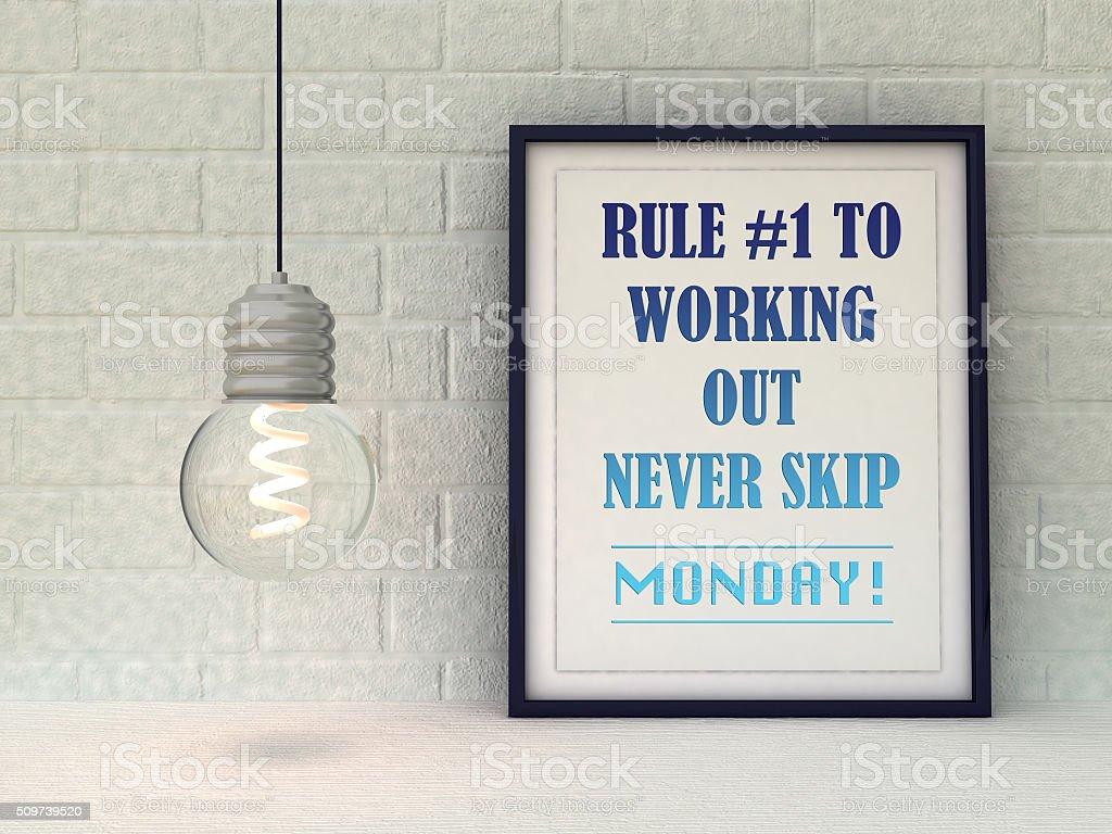 Sport Fitness Motivation Inspirierende Zitat Erfolgkonzept Stock ...