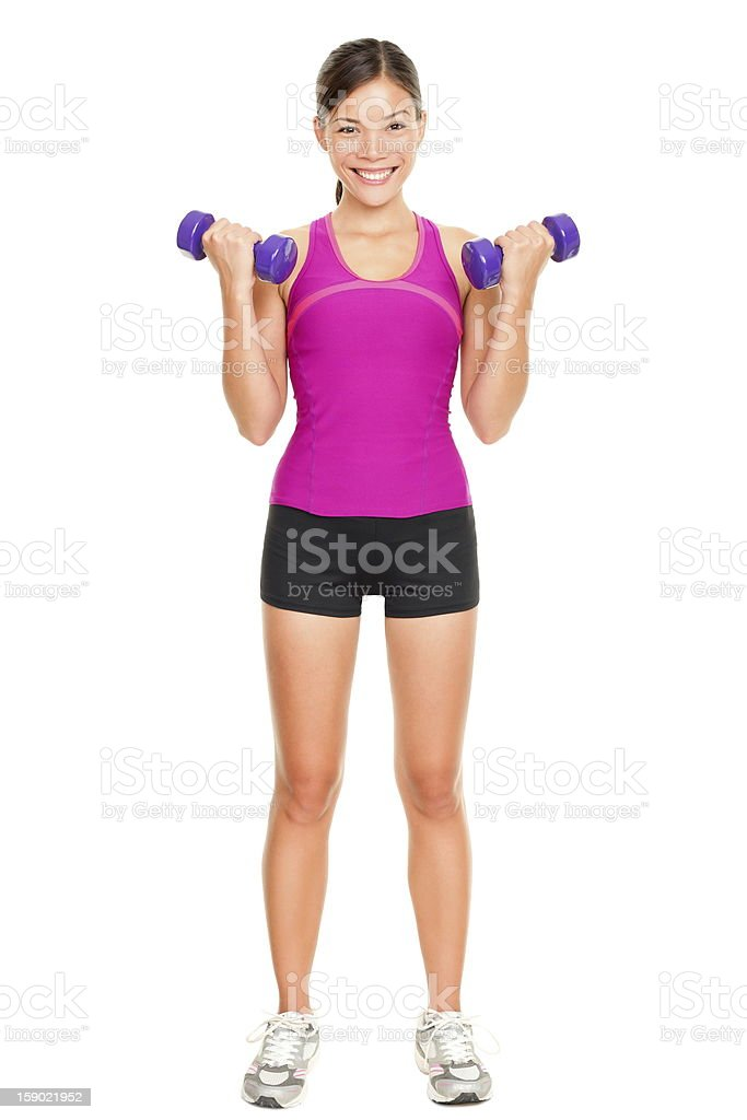 Sport fitness woman stock photo