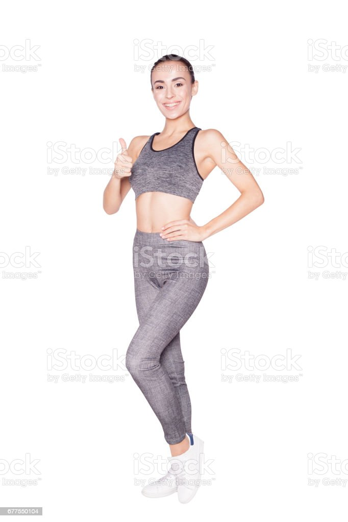 Sport fitness woman. royalty-free stock photo