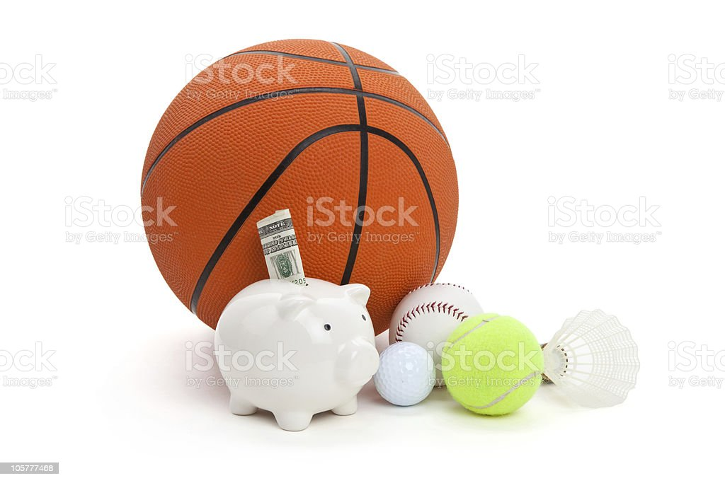 Sport fund royalty-free stock photo
