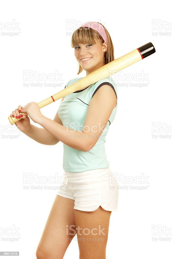 sport girl royalty-free stock photo