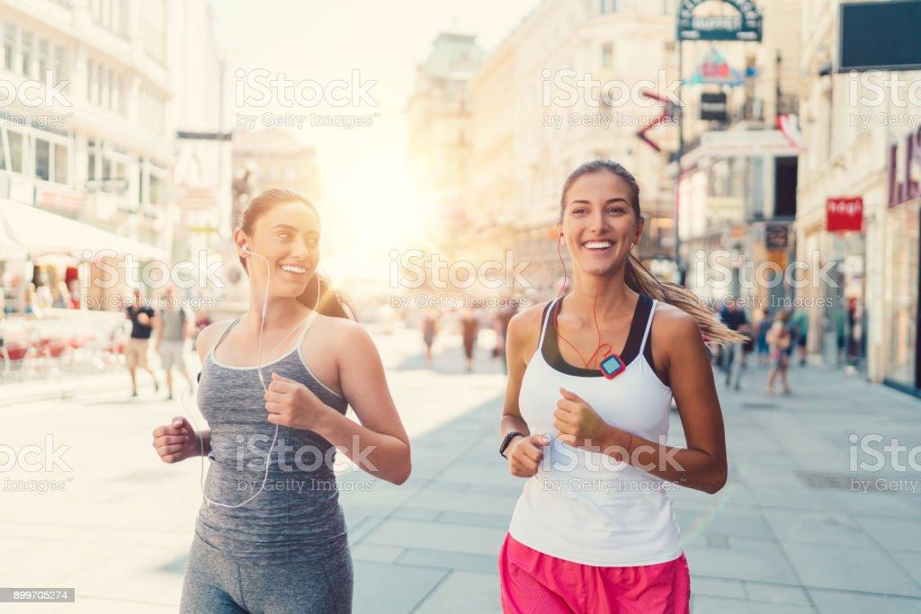 Sport in Vienna stock photo
