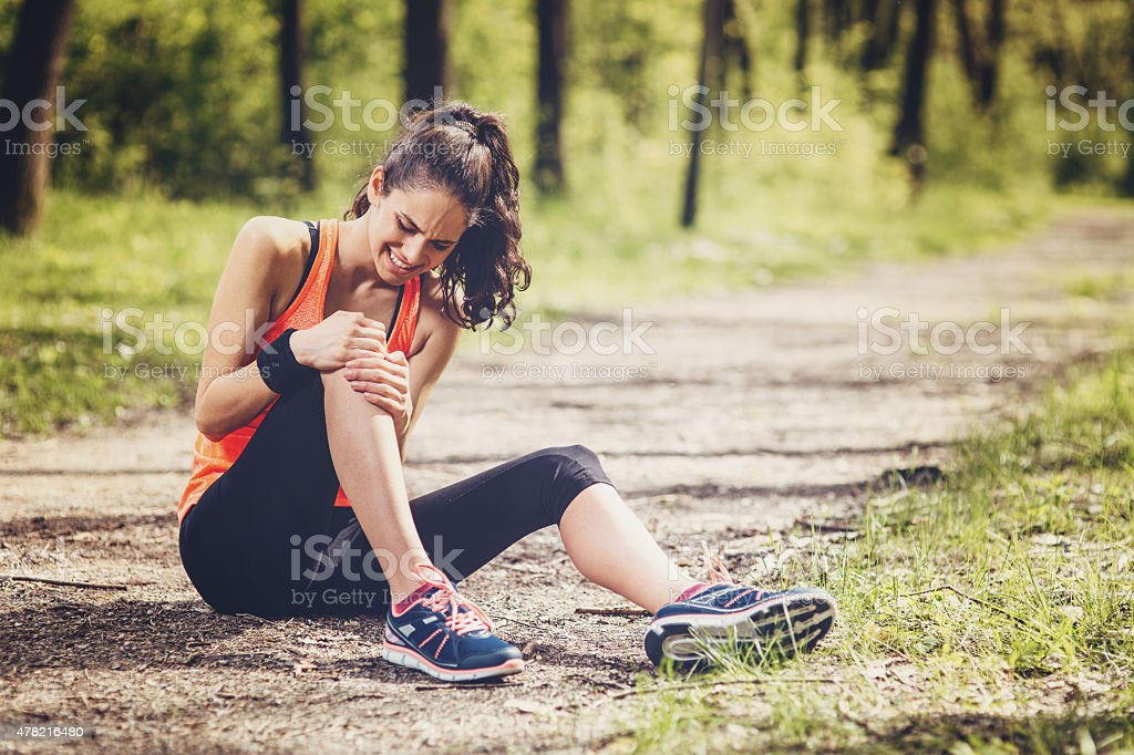 Sport Injury stock photo