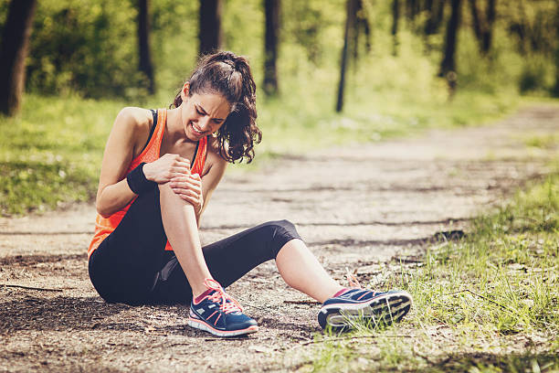 Sport Injury stock photo