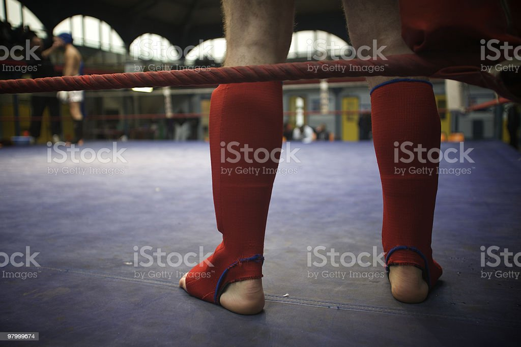 Sport Kick Boxing royalty free stockfoto