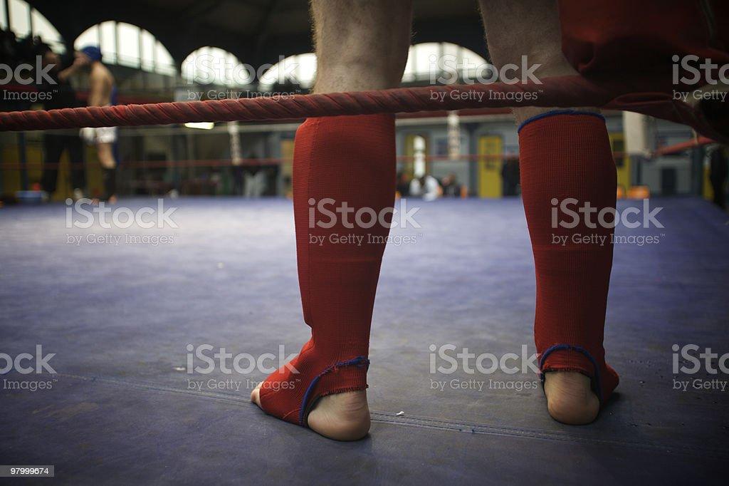 Sport Kick Boxing royalty-free stock photo