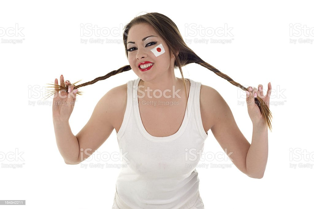 Sport lady royalty-free stock photo