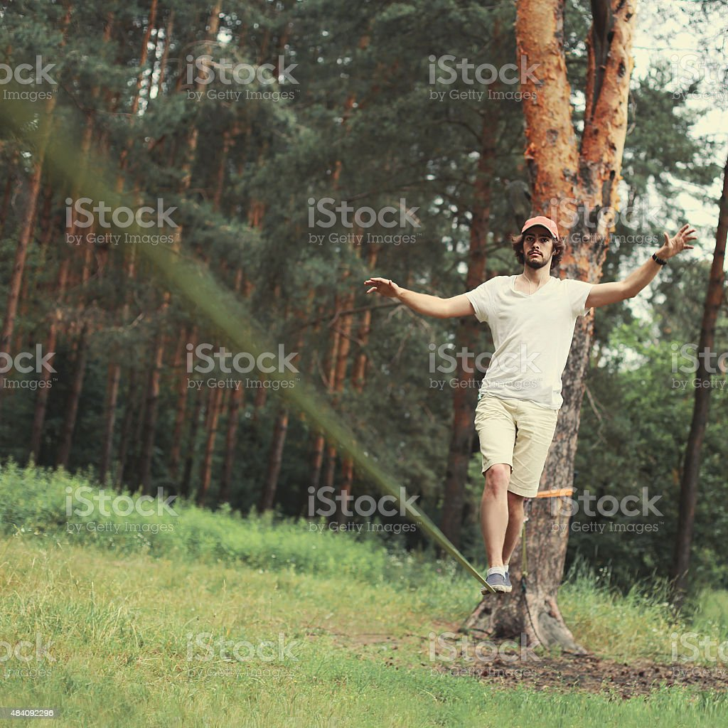 Sport, leisure, recreation and healthy active lifestyle concept stock photo