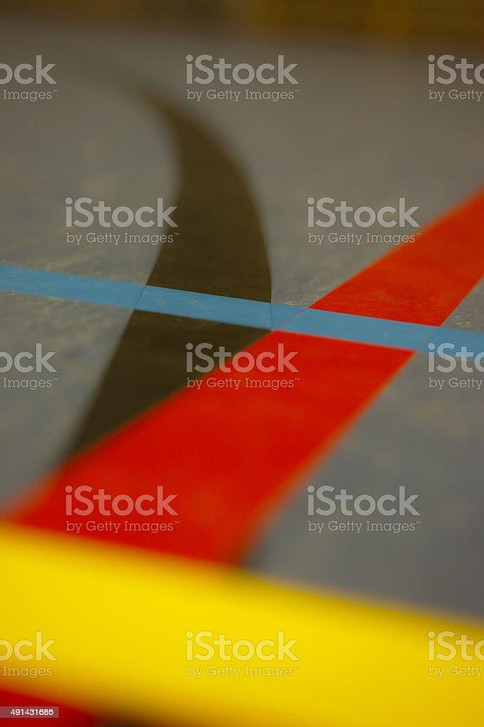 Sport lines stock photo