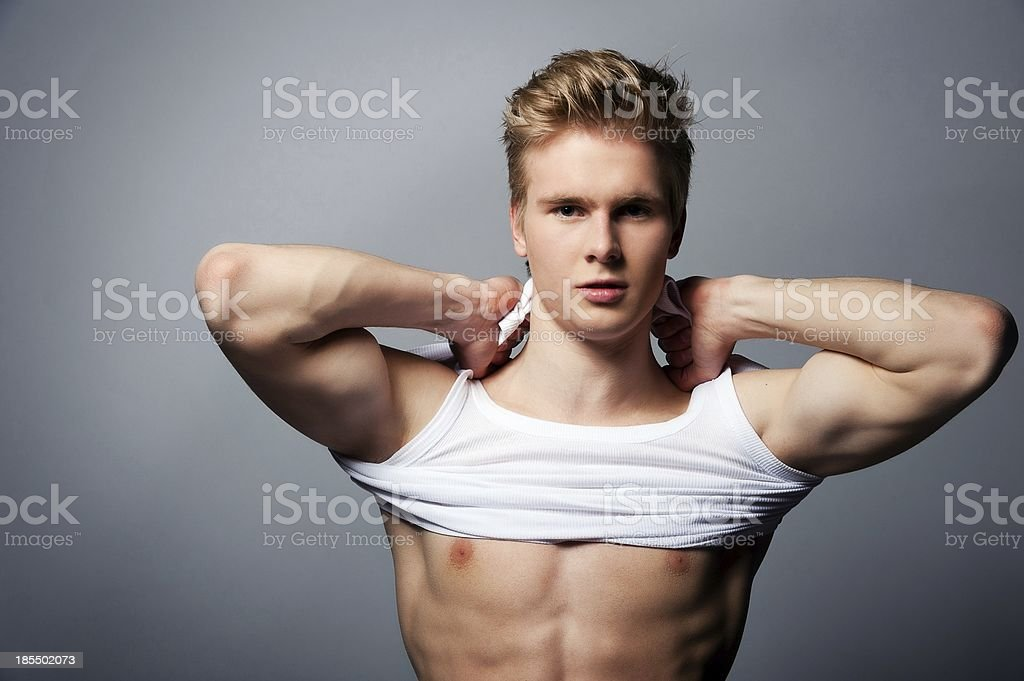 sport man stock photo