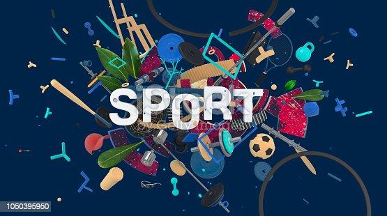 istock Sport media card 1050395950