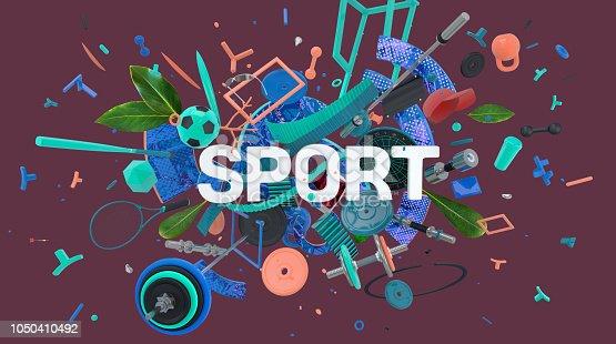 istock Sport motivation card 1050410492