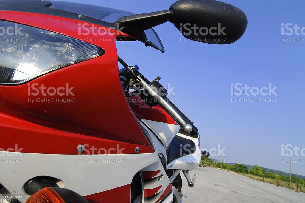 Sport Motorcycle royalty-free stock photo