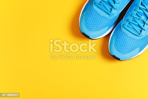 istock Sport objects background 611863522