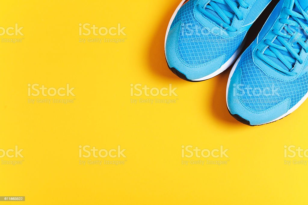Sport objects background stock photo