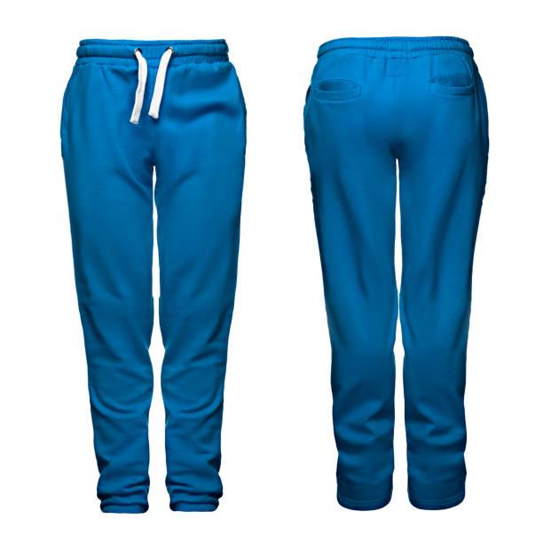 sport-hose, blau - sweatpants stock-fotos und bilder