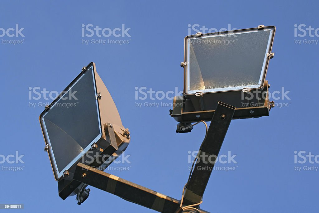 Sport park lightning royalty-free stock photo