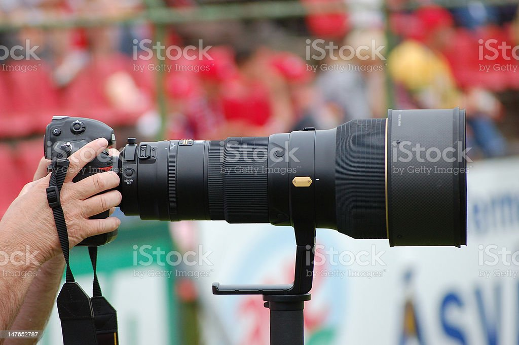 Sport Photographer stock photo
