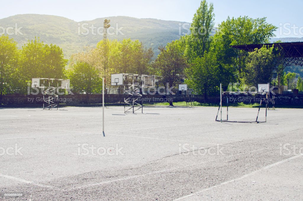 Sport Playground ストックフォト