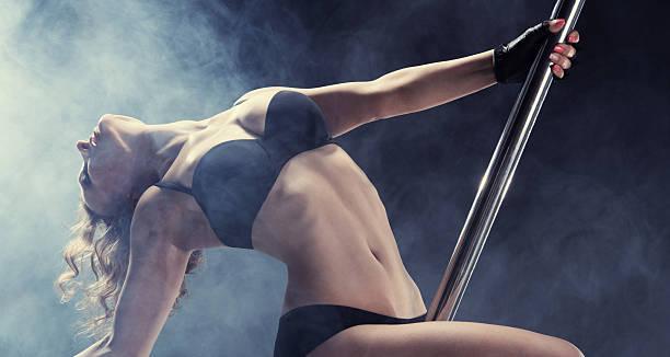Sport. Pole dancer