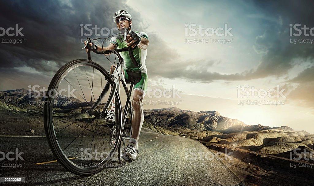 Sport.  Ciclismo su strada. - foto stock