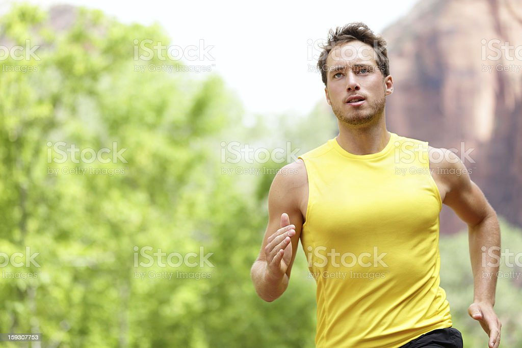 Sport - Runner. stock photo