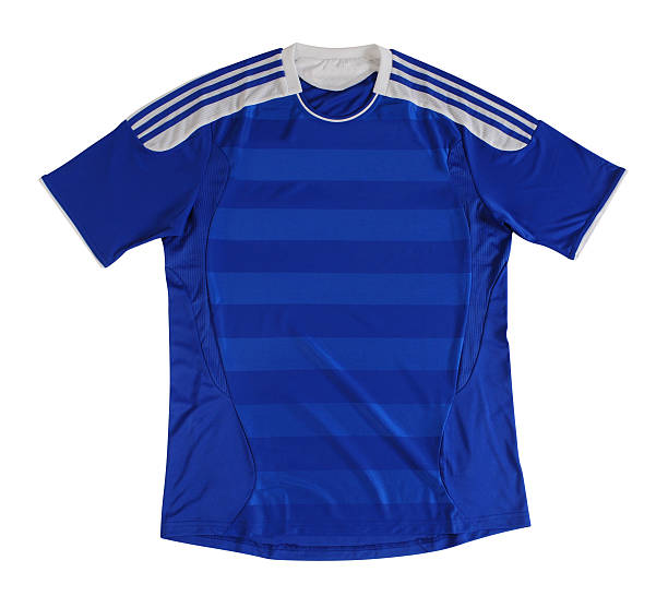sport shirt. clipping path - sports uniform stock photos and pictures