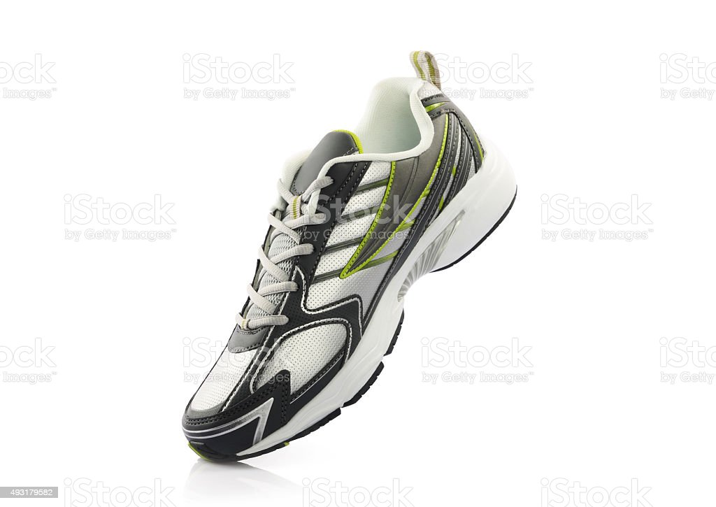 Sport shoe stock photo