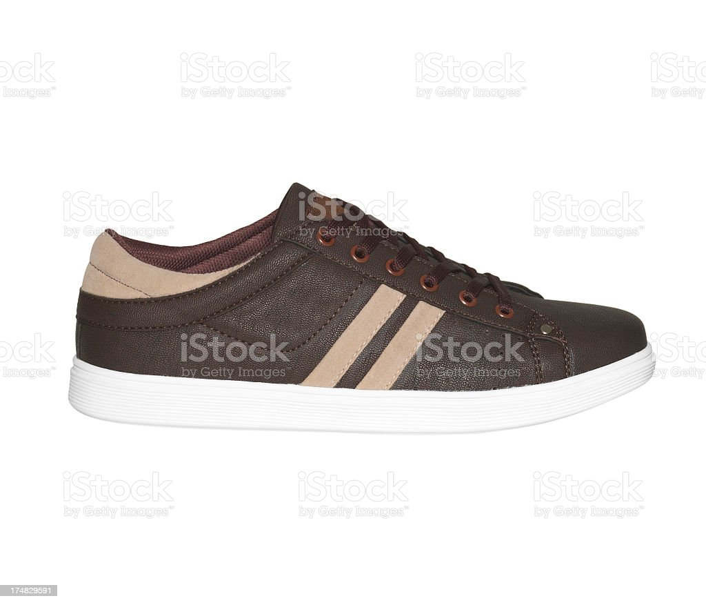 Sport Shoe, Sneakers On White royalty-free stock photo