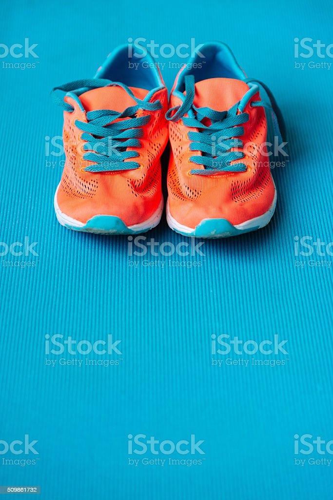 Sport Schuhe für Eignung lifestyle-Konzept Hintergrund – Foto