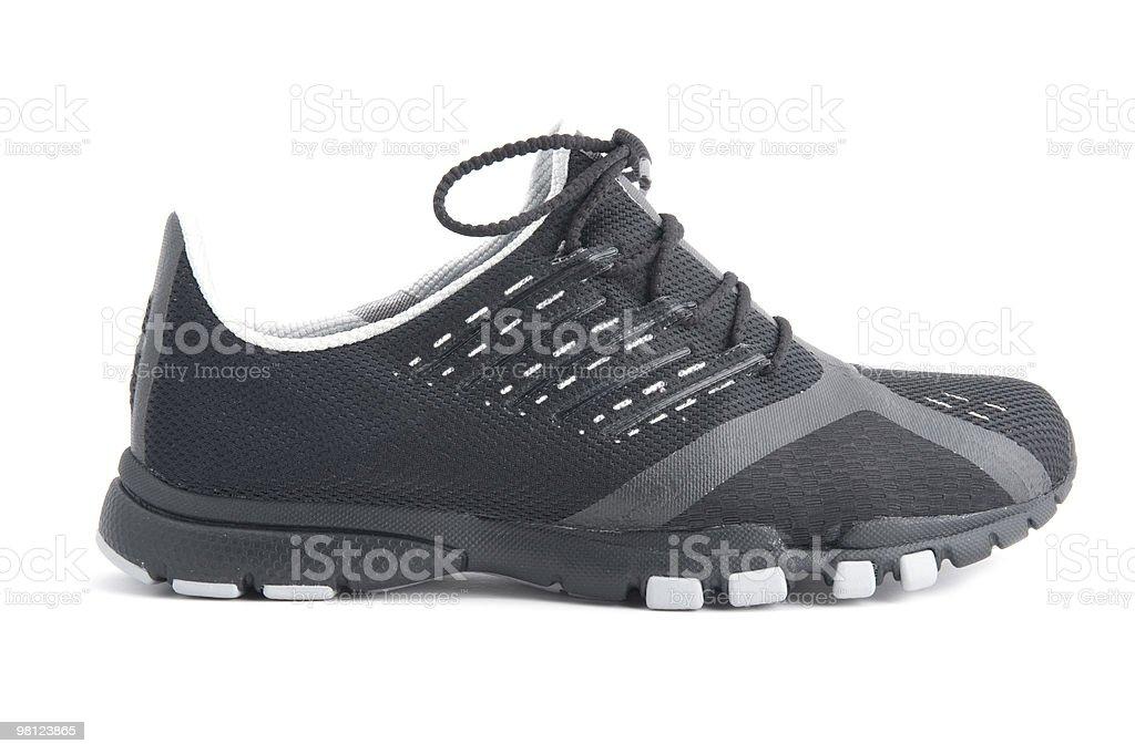 흰색 배경의 스포츠 신발도 royalty-free 스톡 사진