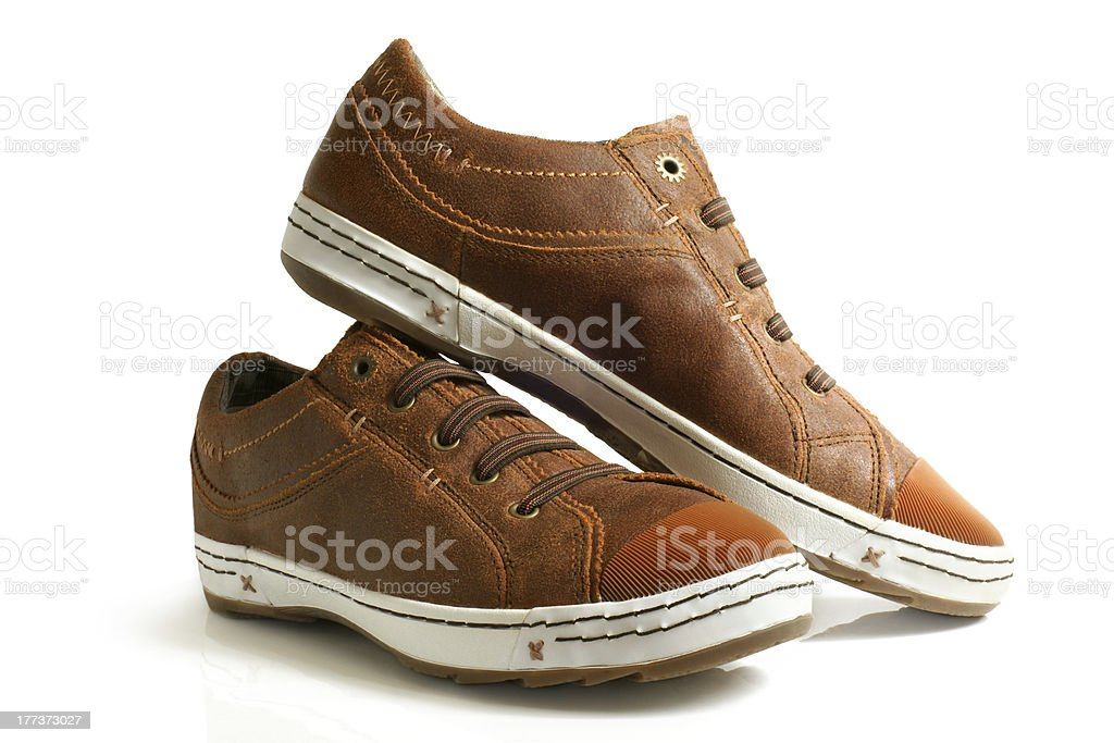 Sport shoes pair stock photo
