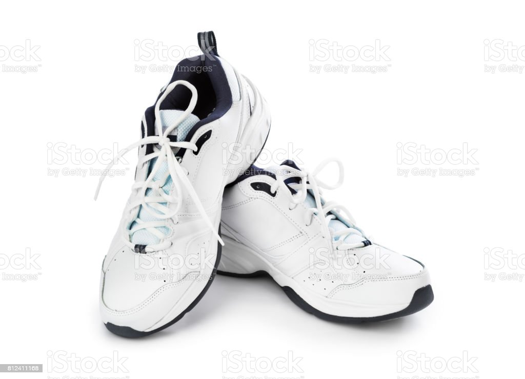 Sport sneakers stock photo