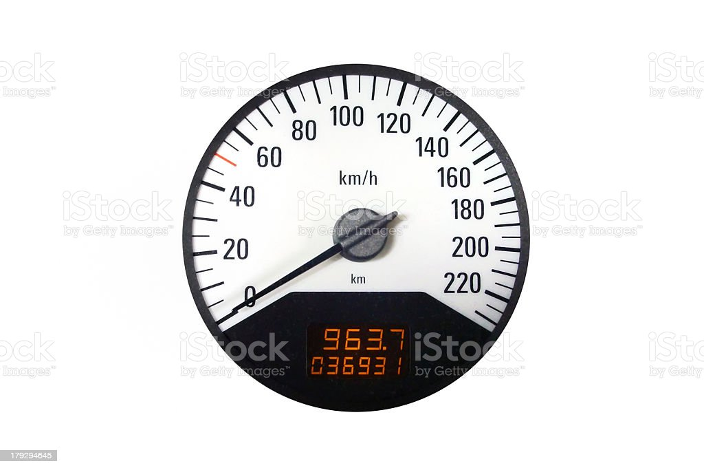 Sport Speedometer royalty-free stock photo