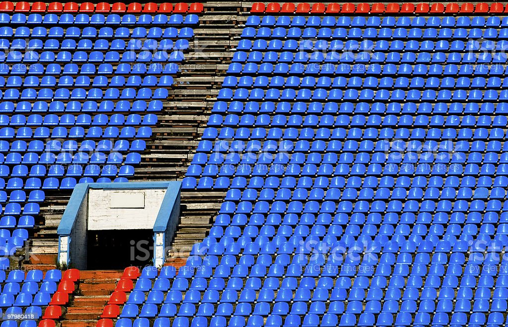 sport stadium background royalty-free stock photo