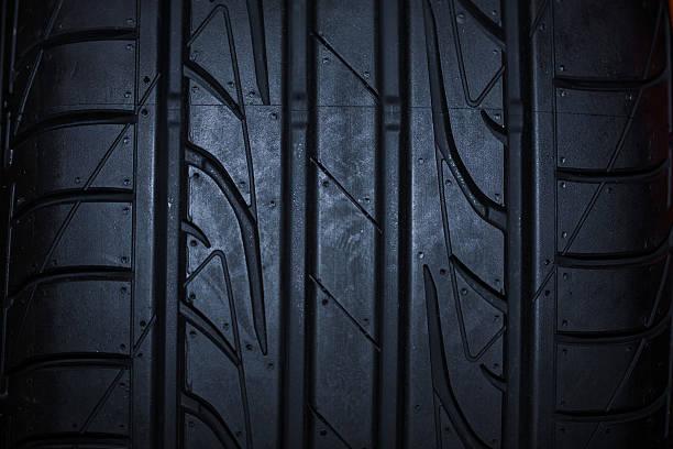 sport summer tire isolated on black background - wheel black background bildbanksfoton och bilder