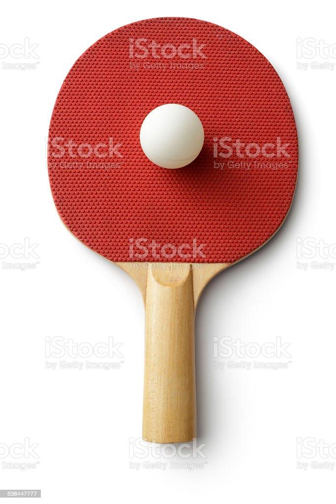 Sport: Table Tennis Bat royalty-free stock photo