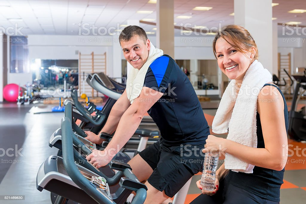 sport - the way to a healthy lifestyle stock photo