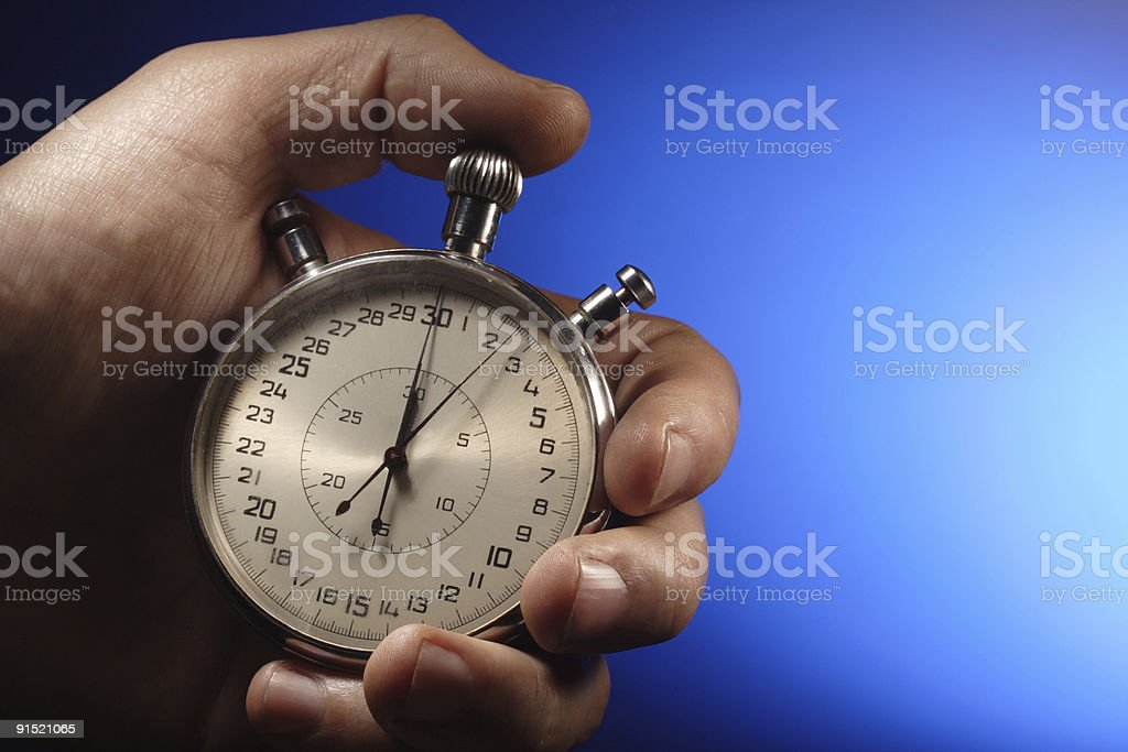sport timer royalty-free stock photo