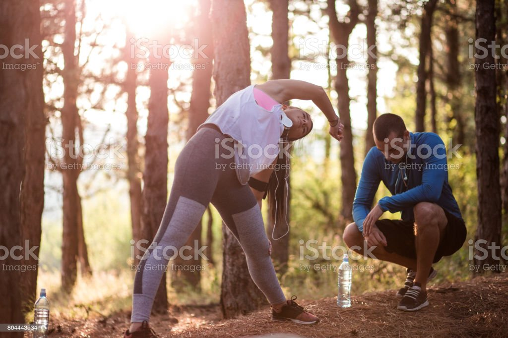Sport Training Outdoors stock photo
