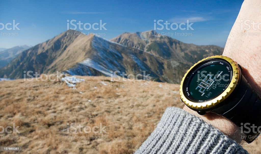 Sport Watch royalty-free stock photo
