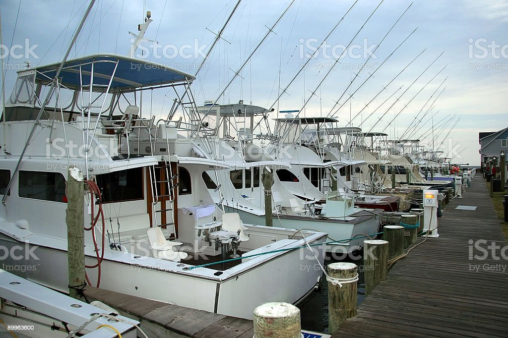 Sportfishing Boats stock photo