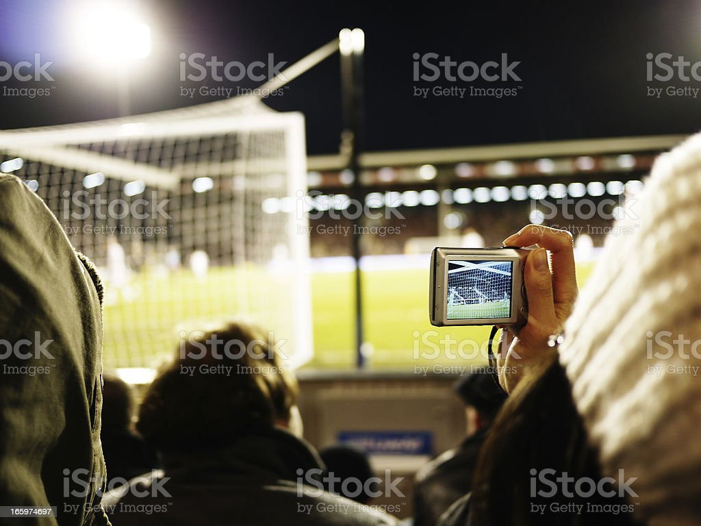 Sporting fixture royalty-free stock photo