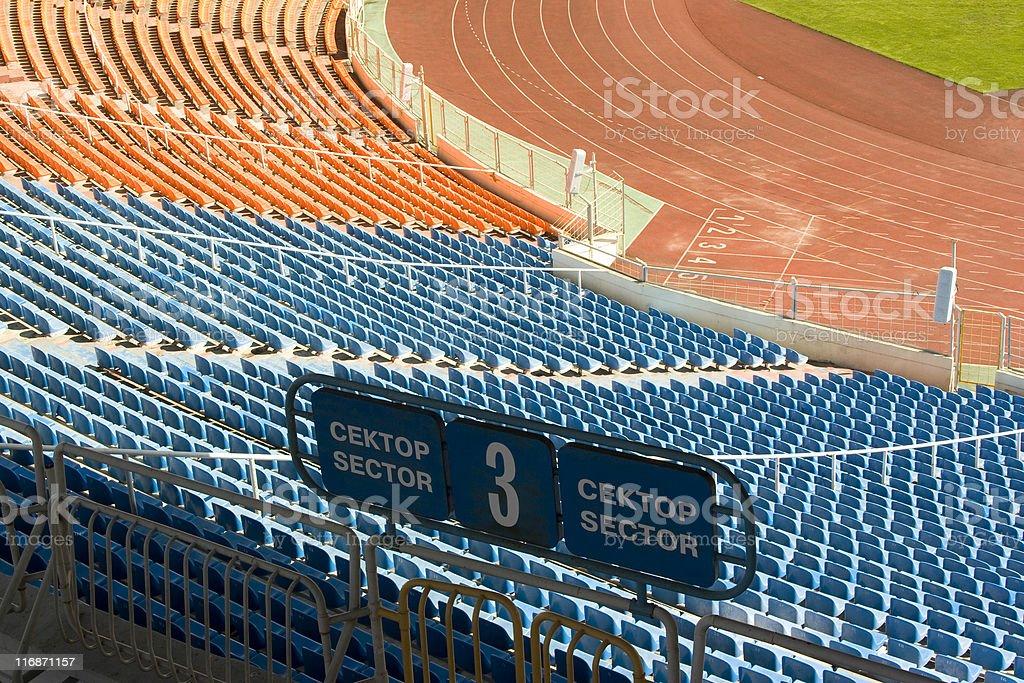 Sporting stadium royalty-free stock photo