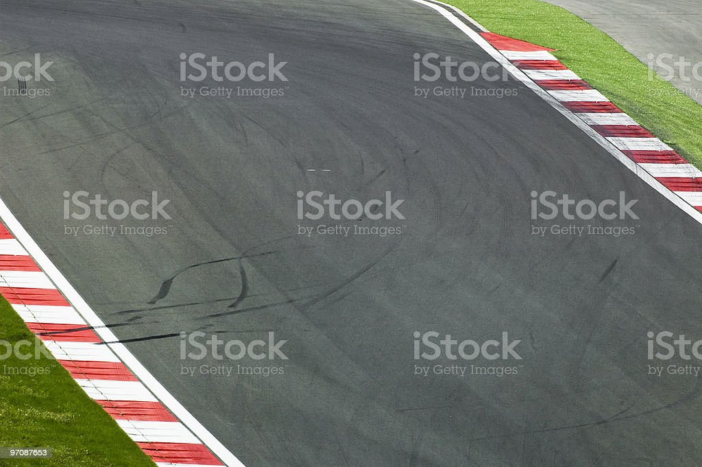 Sporting track royalty-free stock photo