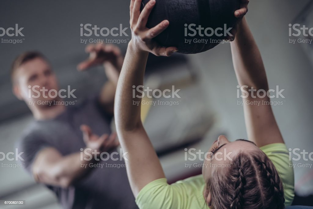 Sporting Woman stock photo