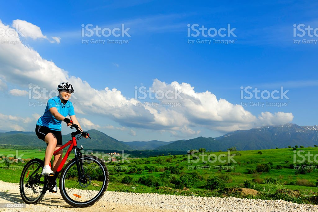 sportive woman royalty-free stock photo