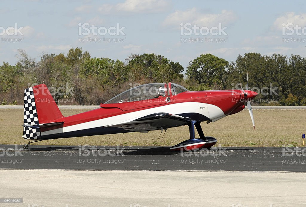 Sports airplane royalty-free stock photo