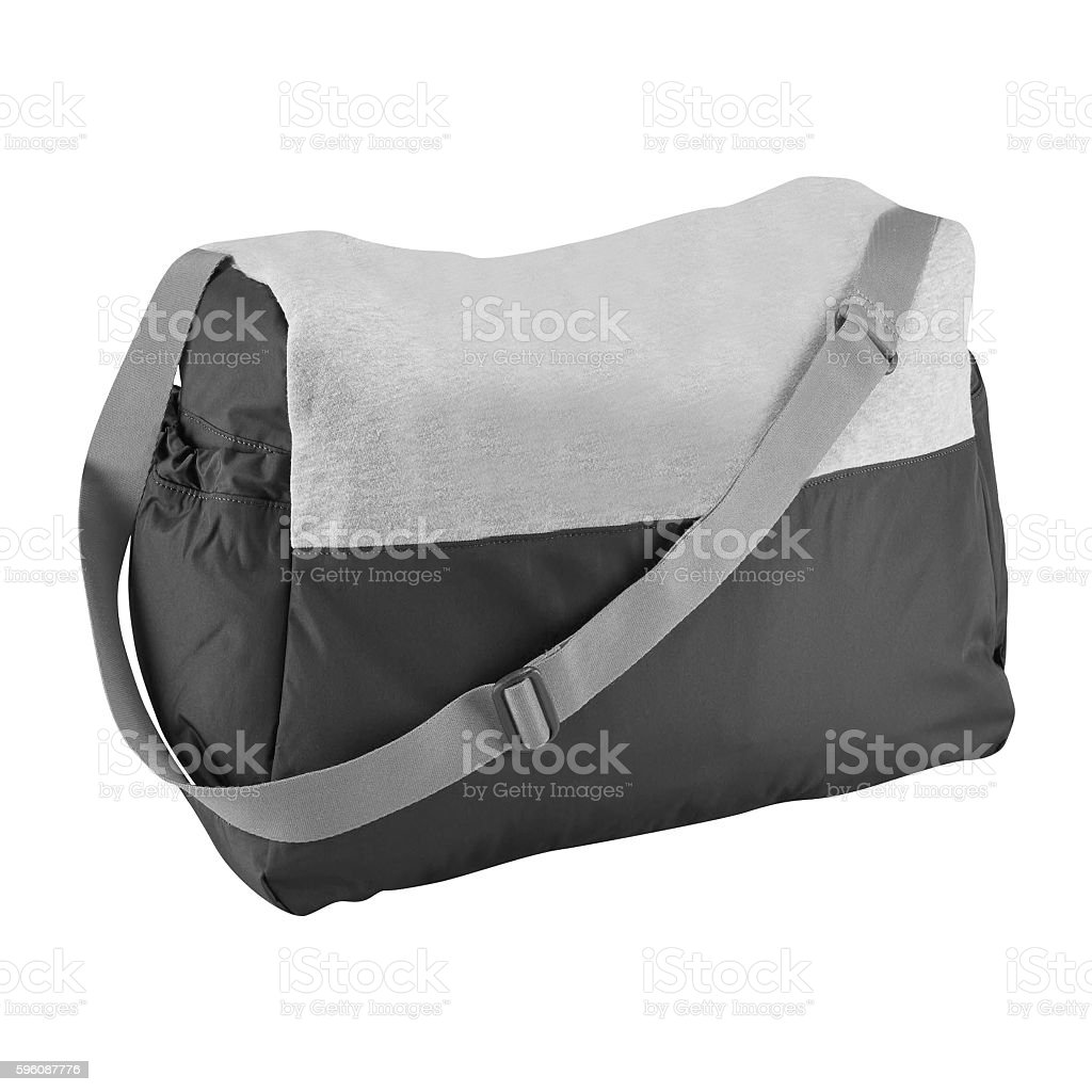 Sports bag isolated royalty-free stock photo