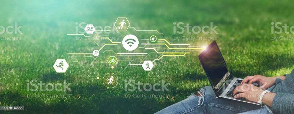 Sports branches concept stock photo